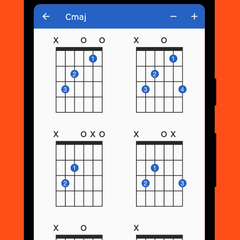 Includes suggested chord finger positions for every chord