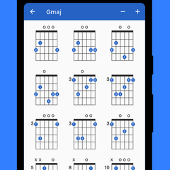 Includes realistic audio preview of every chord
